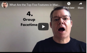 What are the Top 5 new Features in MacOS Mojave